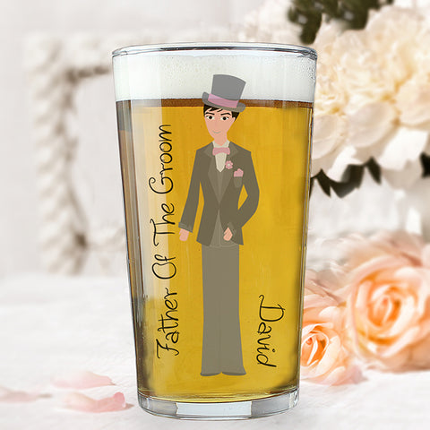 Buy Personalised Fabulous Male Pint Glass