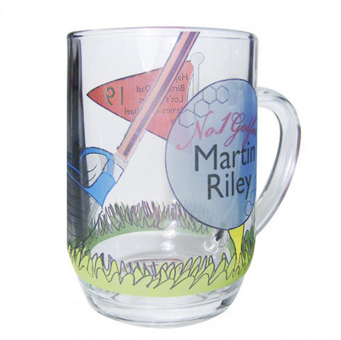 Personalised No1 Golfer Pint Tankard | ShaneToddGifts.co.uk