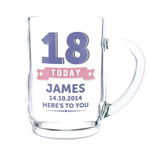 Buy Personalised Birthday Star Tankard