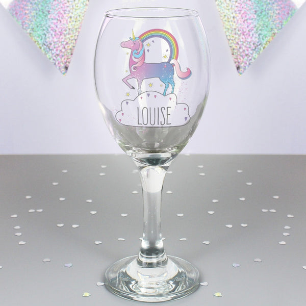 personalised-unicorn-wine-glass