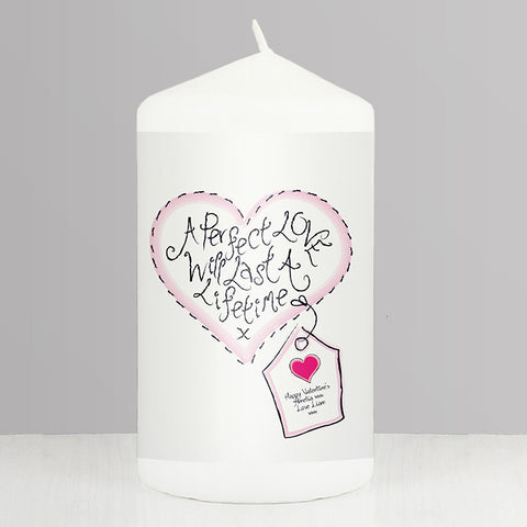 Buy Personalised Perfect Love Candle