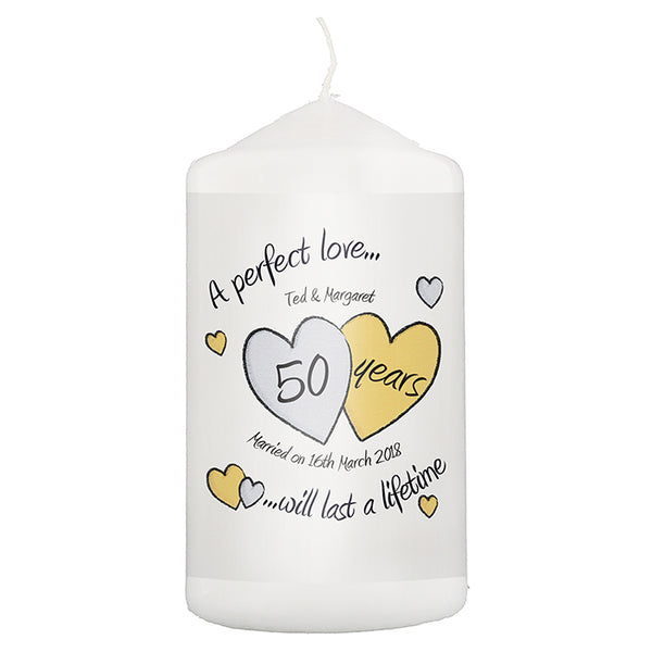 personalised-a-perfect-love-golden-anniversary-candle