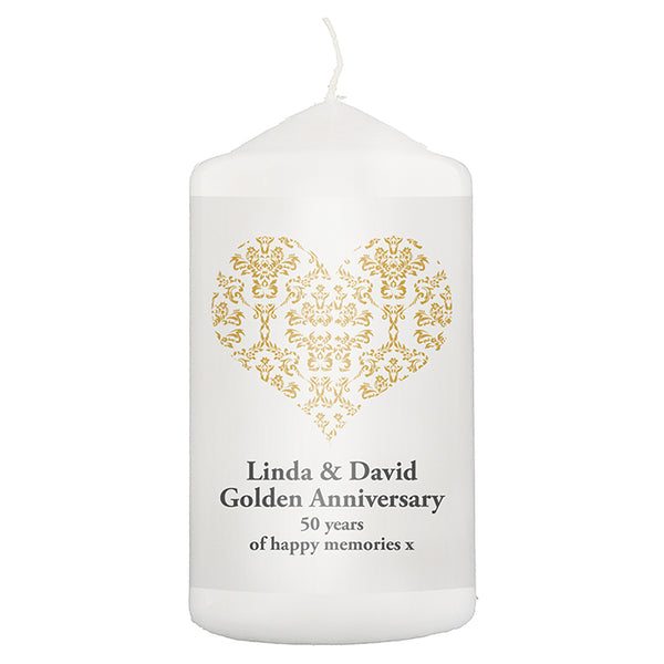 personalised-gold-damask-heart-candle