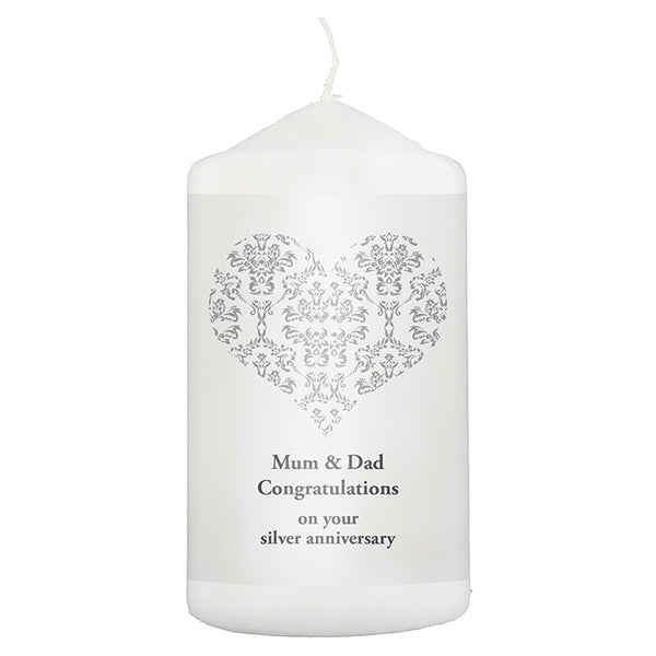 personalised-silver-damask-heart-candle