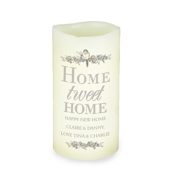 personalised-home-tweet-home-led-candle
