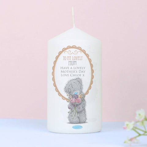 Personalised Me to You Flowers Candle For Her | ShaneToddGifts.co.uk