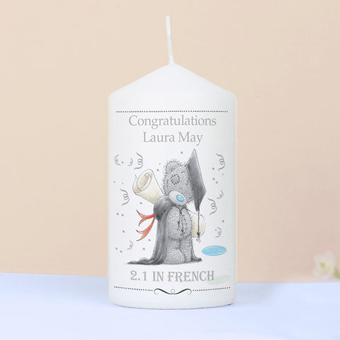 Buy Personalised Me to You Graduation Candle