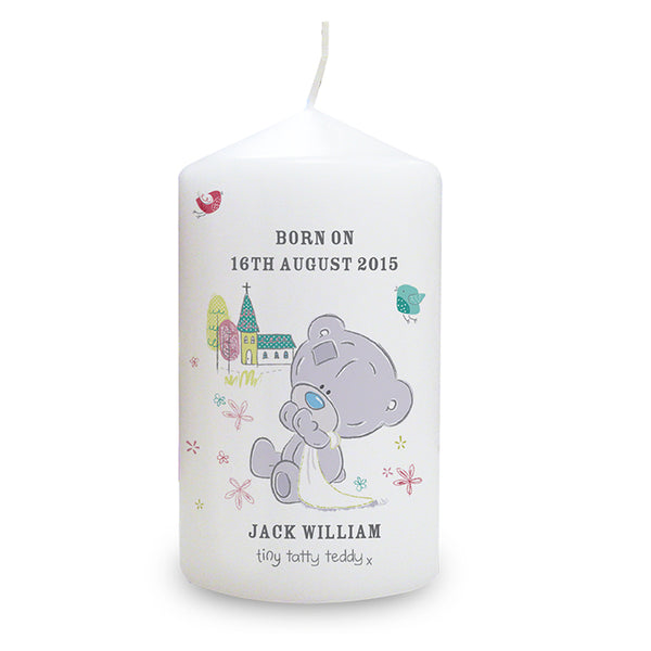 personalised-tiny-tatty-teddy-christening-candle