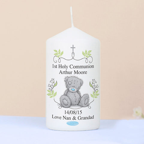 Buy Personalised Me To You Religious Cross Candle