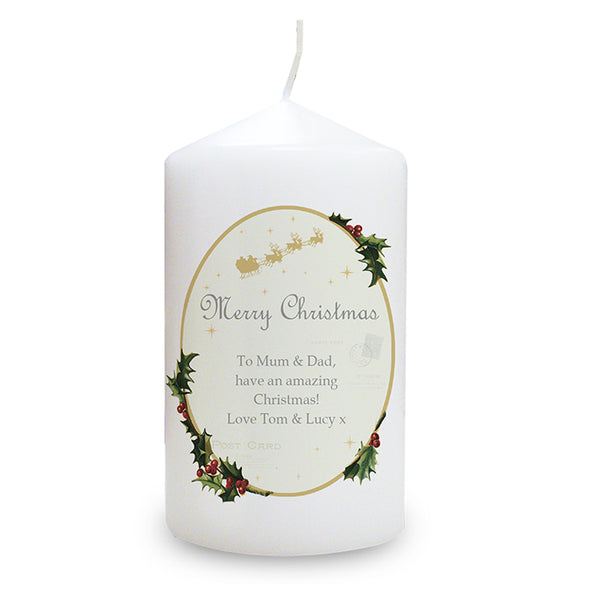 personalised-traditional-christmas-candle