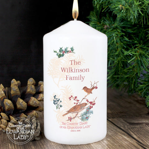 Buy Personalised Country Diary Midwinter Candle