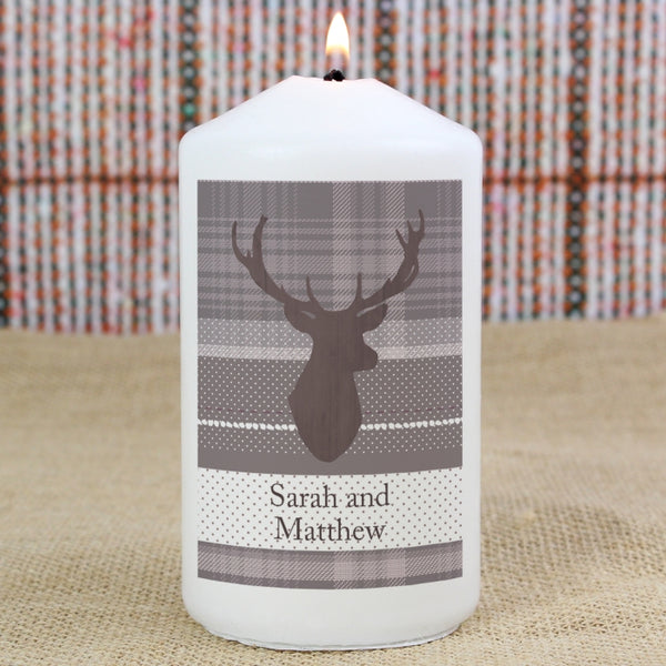 personalised-highland-stag-candle