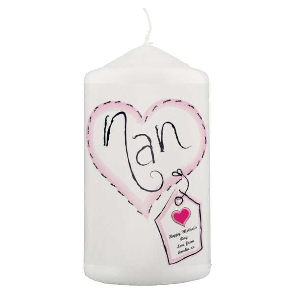 personalised-heart-stitch-nan-candle