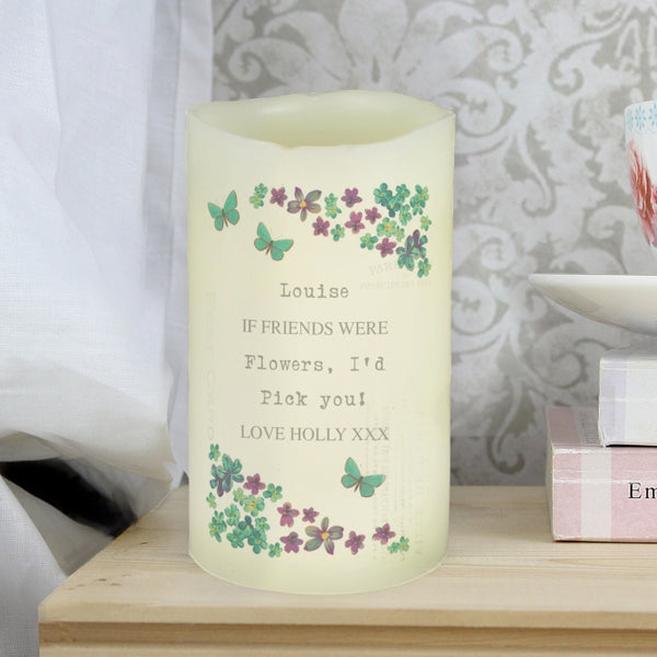 personalised-forget-me-not-led-candle