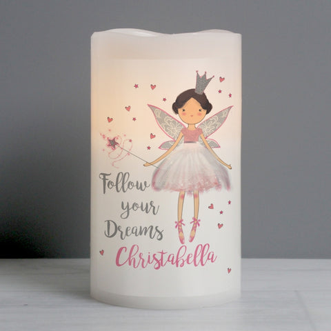 Buy Personalised Fairy Princess Nightlight LED Candle