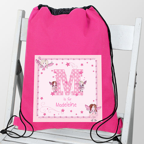 Personalised Fairy Letter Swim & Kit Bag - Shane Todd Gifts UK