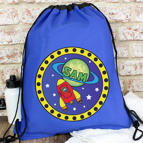 Buy Personalised Space Swim & Kit Bag