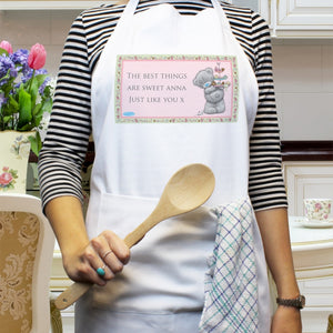 Personalised Me To You Cupcake Apron