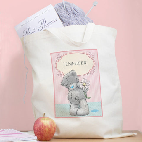 Personalised Me To You Daisy Cotton Bag - Shane Todd Gifts UK