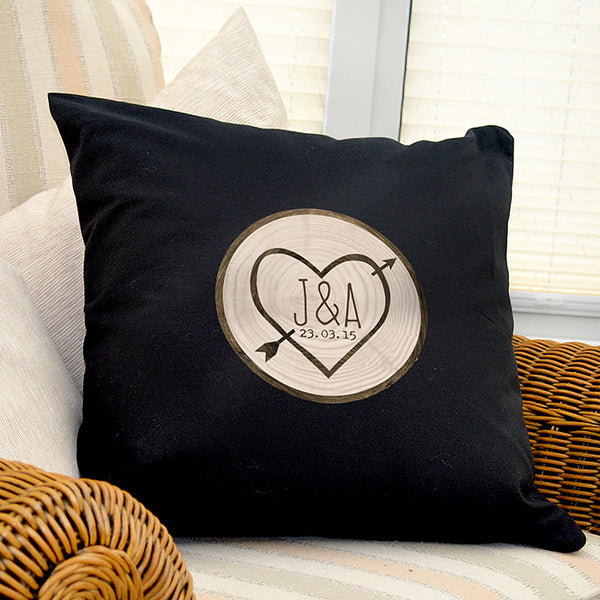 personalised-wood-carving-black-cushion-cover