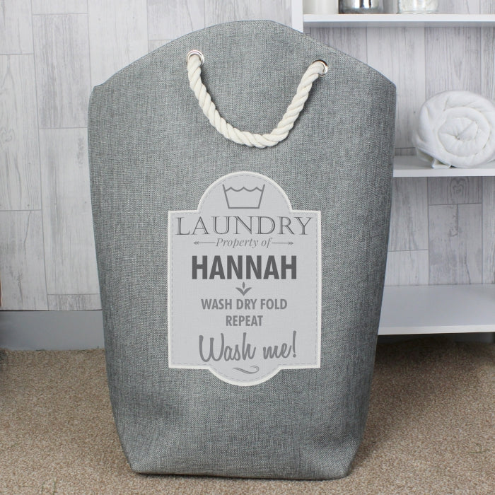 Personalised Laundry Bag, Luggage & Bags by Low Cost Gifts