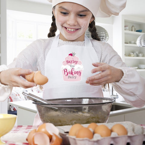 Personalised Baking Fairy Children's Apron