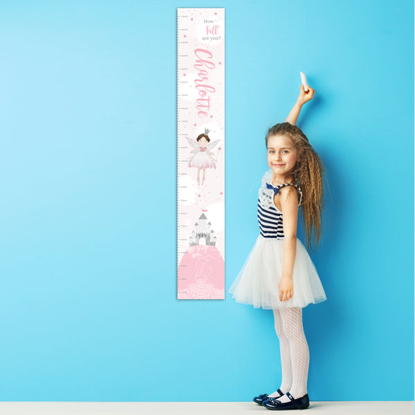 Personalised Fairy Height Chart