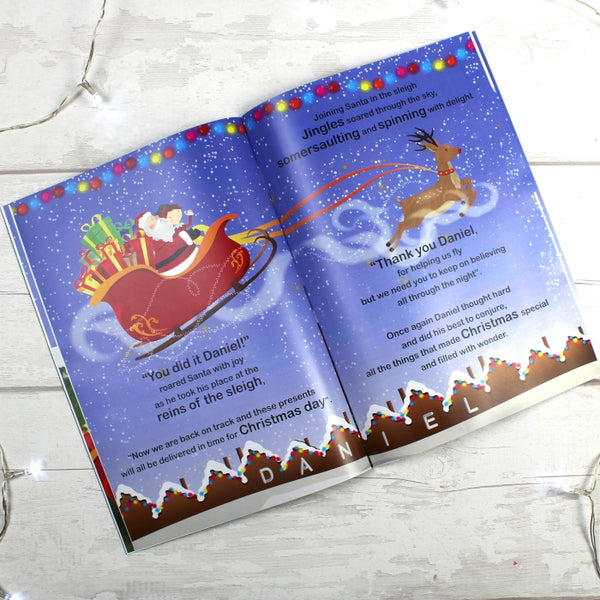 personalised-boys-its-christmas-story-book-featuring-santa-and-his-elf-jingles