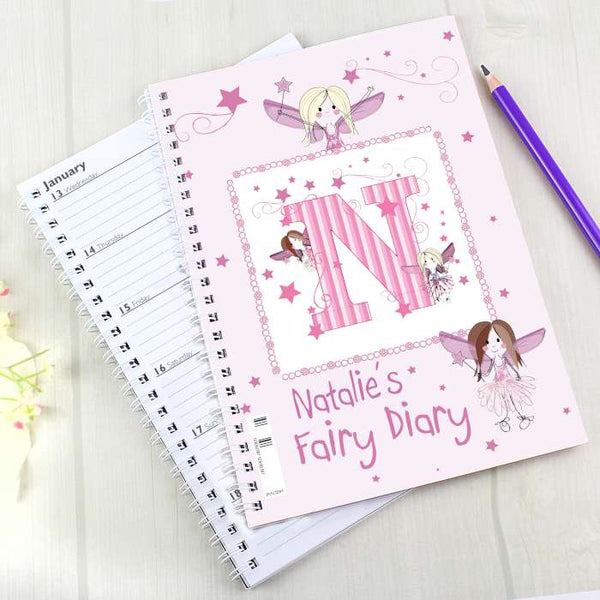 Personalised Fairy - A5 Diary