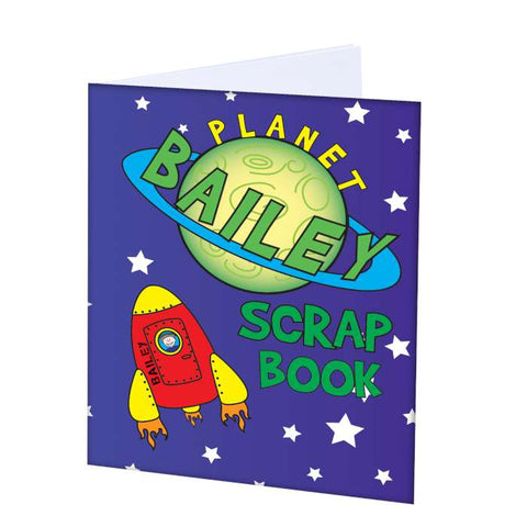 Buy Personalised Space - A4 Scrapbook
