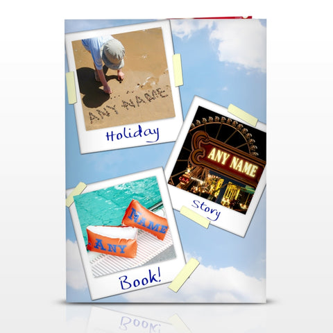Buy Personalised On Holiday Story Book