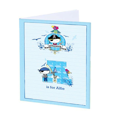 Buy Personalised Pirate A4 Scrapbook