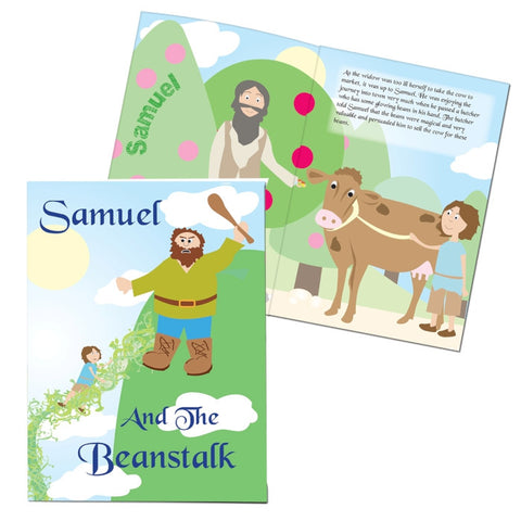 Buy Personalised Jack and the Beanstalk Story Book