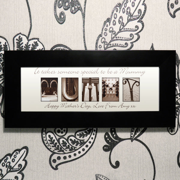 Personalised Affection Art Mummy Small Frame