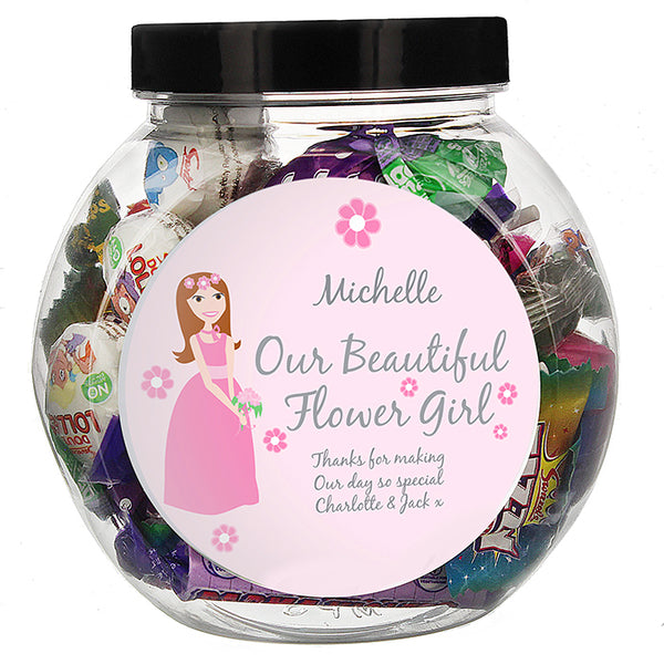 personalised-fabulous-flowergirl-sweet-jar