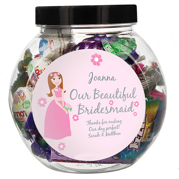 personalised-fabulous-bridesmaid-sweet-jar