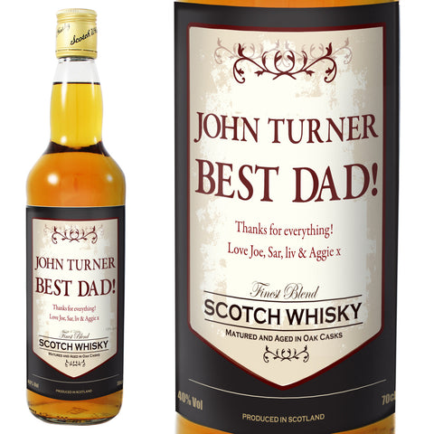 Personalised Classic Whisky - Shane Todd Gifts UK