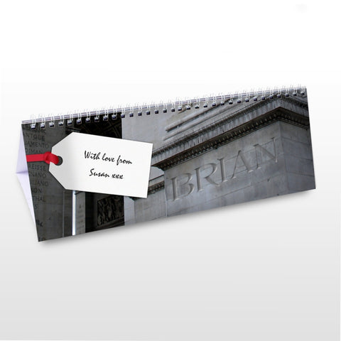 Buy Personalised Big Building Desk Calendar