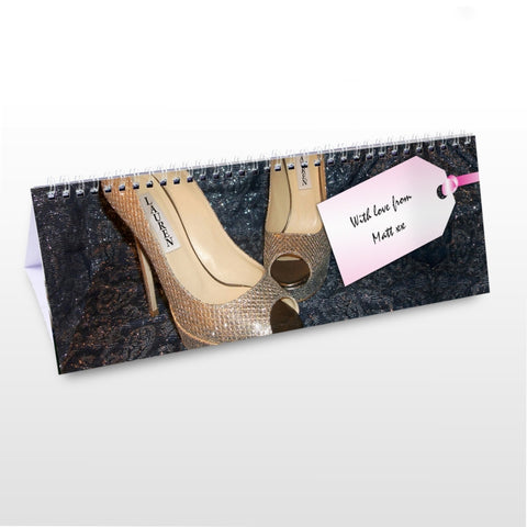 Buy Personalised For Her Desk Calendar