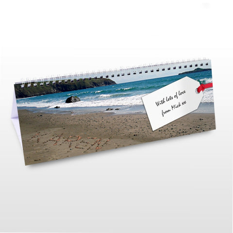 Buy Personalised Coast Desk Calendar