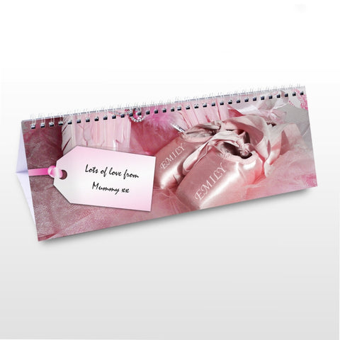 Buy Personalised Little Princess Desk Calendar
