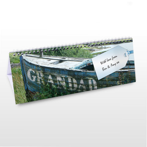 Buy Personalised Grandad Desk Calendar