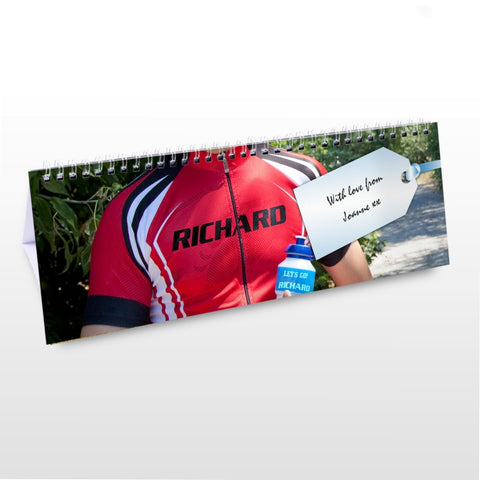 Buy Personalised Sport Desk Calendar