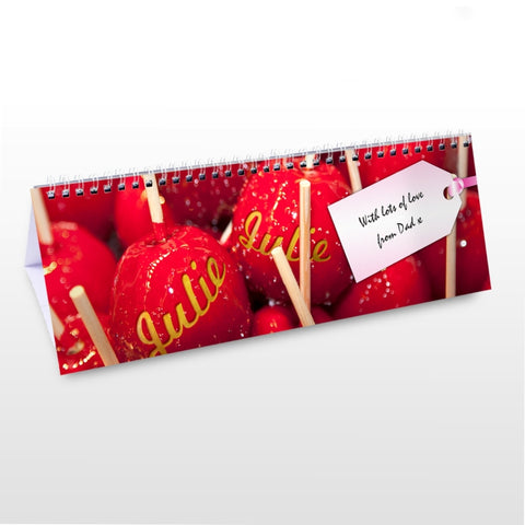 Buy Personalised Sweet Tooth Desk Calendar