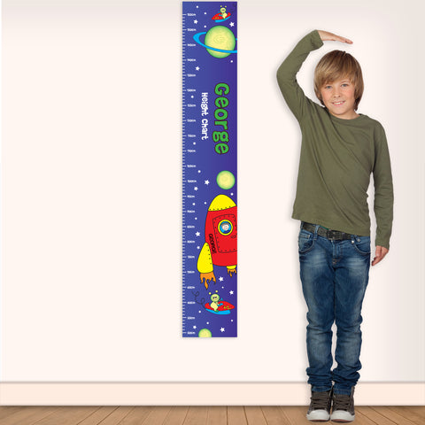 Buy Personalised Space Height Chart