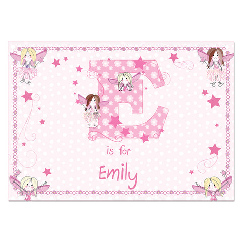 Buy Personalised Fairy Placemat