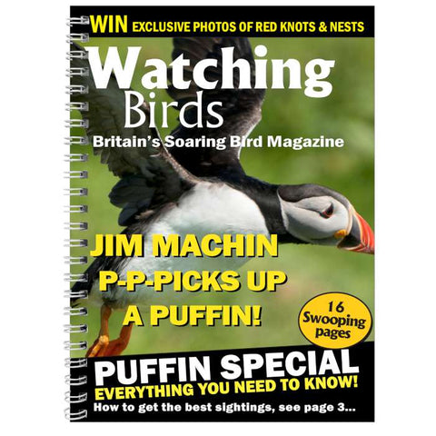 Personalised Watching Birds A5 Diary | ShaneToddGifts.co.uk