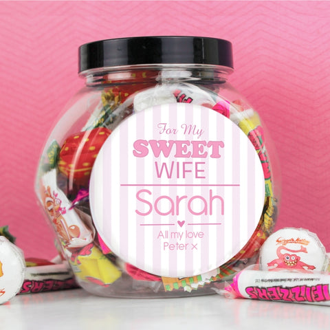Personalised For My Sweet Sweets | ShaneToddGifts.co.uk