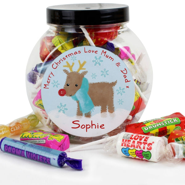 personalised-felt-stitch-reindeer-sweet-jar