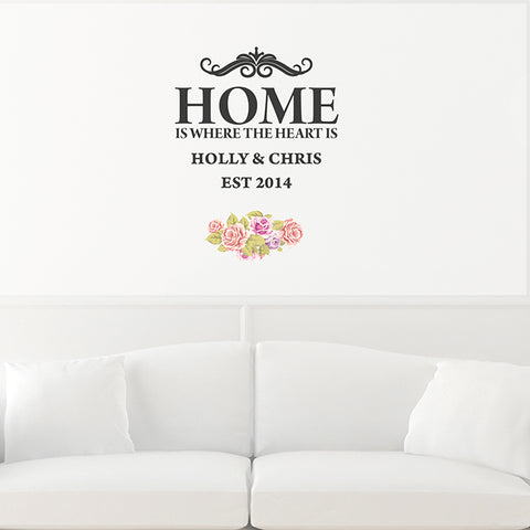 Buy Personalised Shabby Chic Wall Art